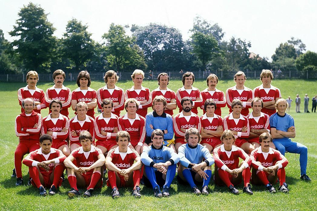 München 1977/78 - 11FREUNDE BILDERWELT
