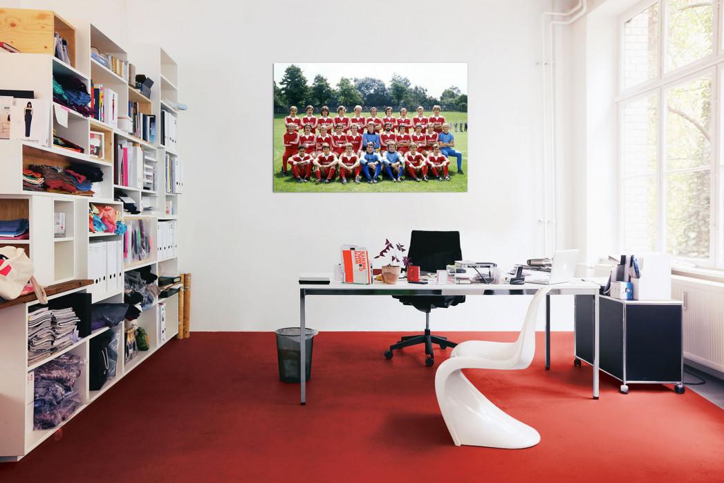 Mannschaftsfoto FC Bayern München 1977/78 in deinem Büro - 11FREUNDE BILDERWELT