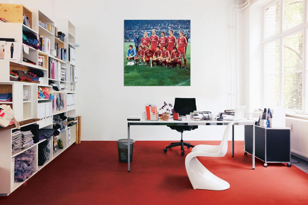 Die Elf vom FC Bayern München 1987 in deinem Büro - 11FREUNDE BILDERWELT