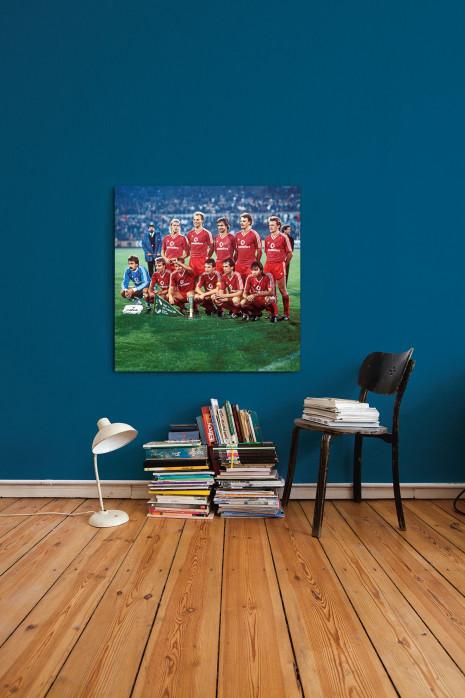 Die Elf vom FC Bayern München 1987 an deiner Wand - 11FREUNDE BILDERWELT