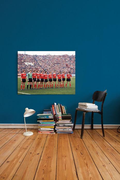 Die Elf vom 1. FC Nürnberg 1980 an deiner Wand - 11FREUNDE BILDERWELT