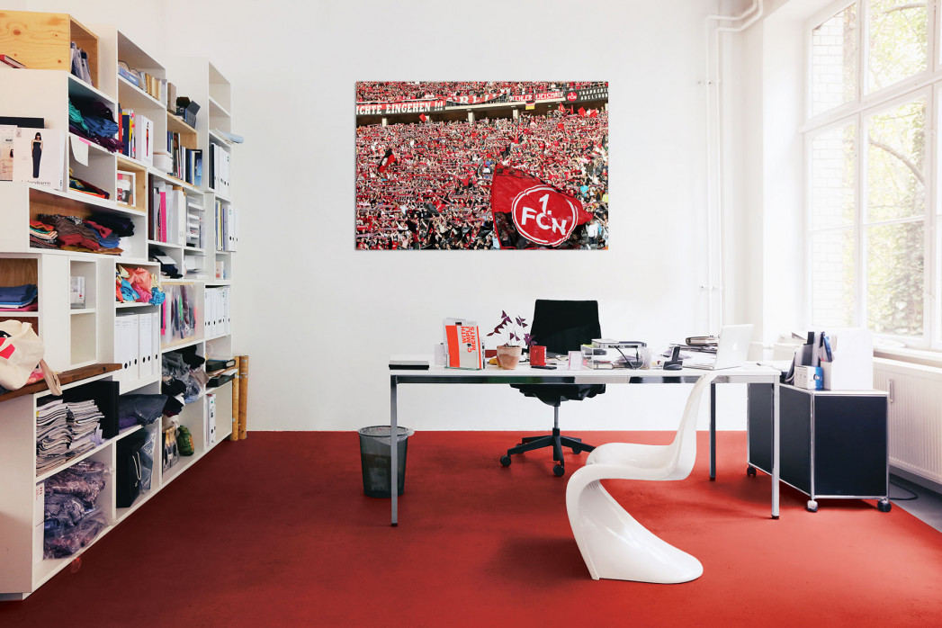 »Nürnberg Fans in Berlin« in deinem Büro - 11FREUNDE BILDERWELT