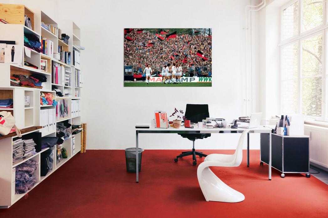 »Nürnberger Torjubel« in deinem Büro