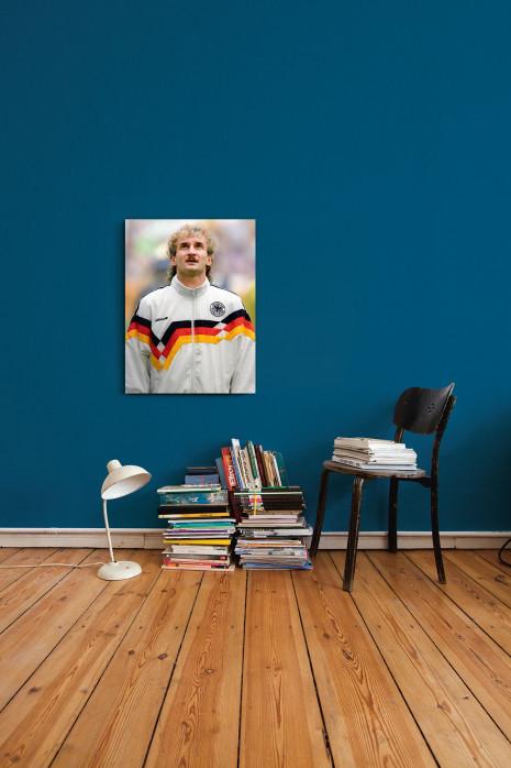An deiner Wand: Rudi »Nazionale« Völler WM 1990 - 11FREUNDE BILDERWELT