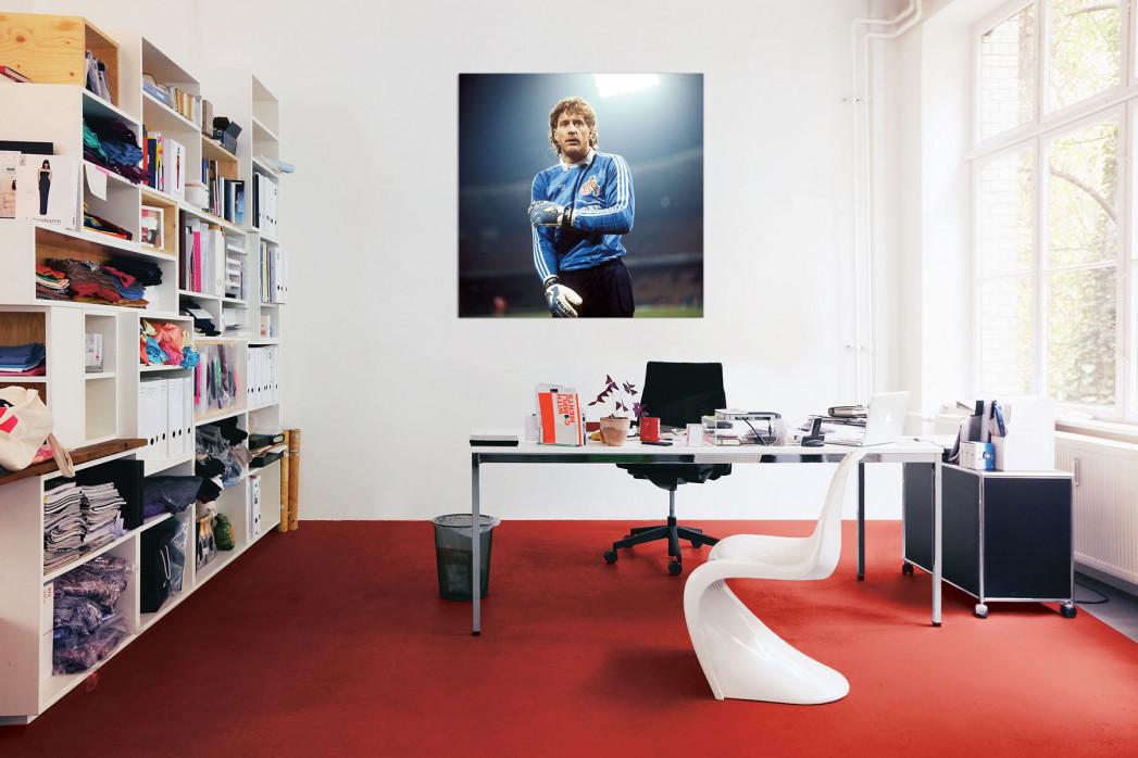 Toni Schumacher vom 1. FC Köln in deinem Büro - 11FREUNDE BILDERWELT