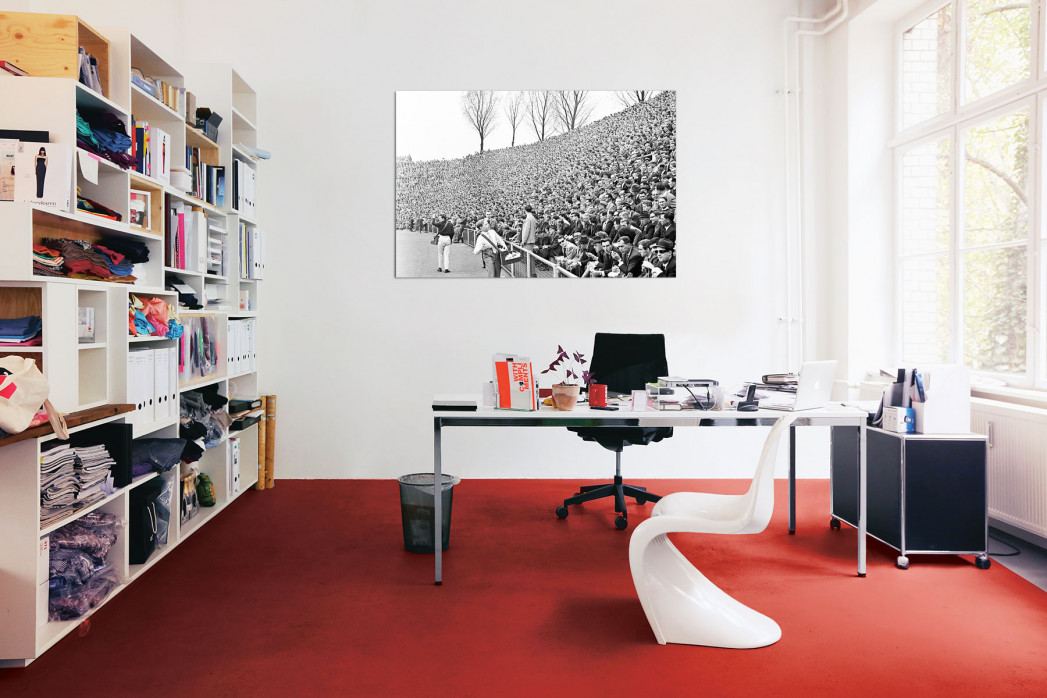 »Zuschauer 1965« in deinem Büro - 11FREUNDE BILDERWELT