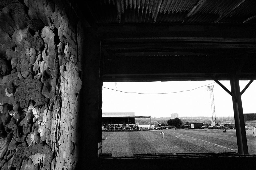 Der isolierte Torwart - Fußball Wandbild - 11FREUNDE SHOP