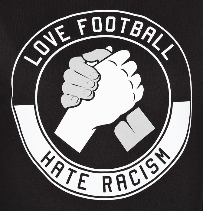 Sweater Love Football - Hate Racism - 11FREUNDE SHOP