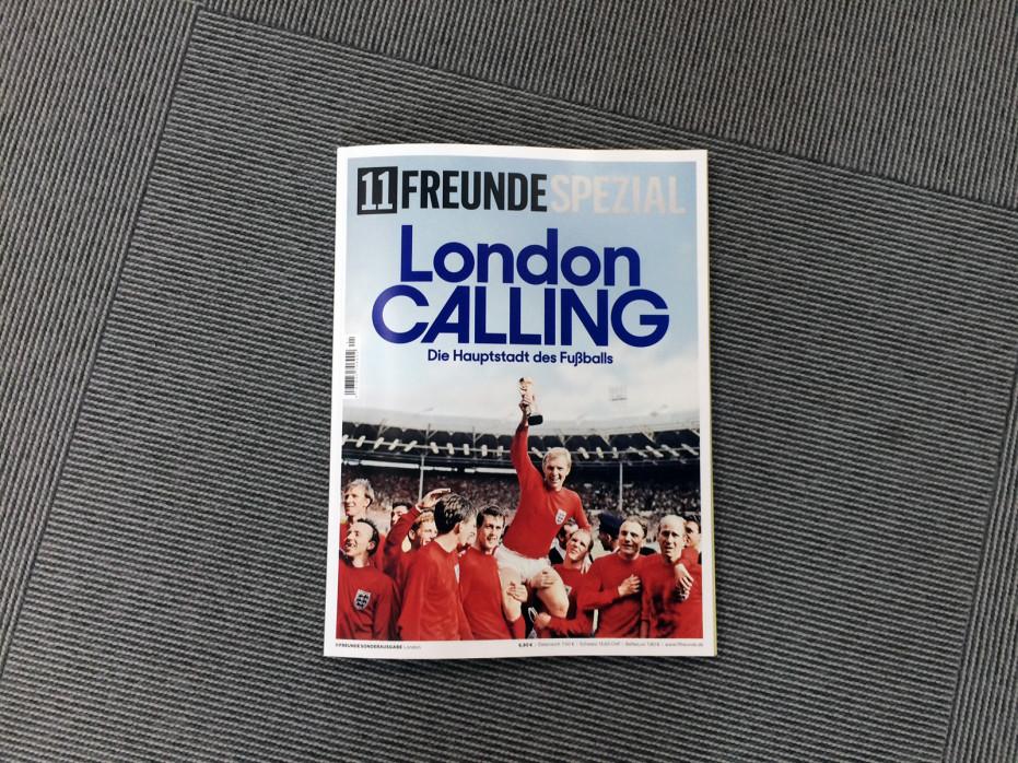 11FREUNDE SPEZIAL - London - Heft bestellen