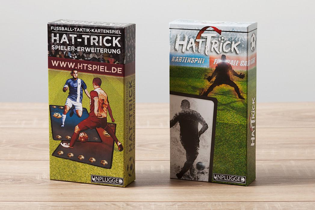 Bundle: Taktik-Kartenspiel: HAT-TRICK (Basisspiel) + Spieler-Erweiterung - 11FREUNDE SHOP