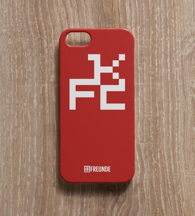 Pixel-Wappen: Kaiserslautern- Smartphonehülle - 11FREUNDE SHOP