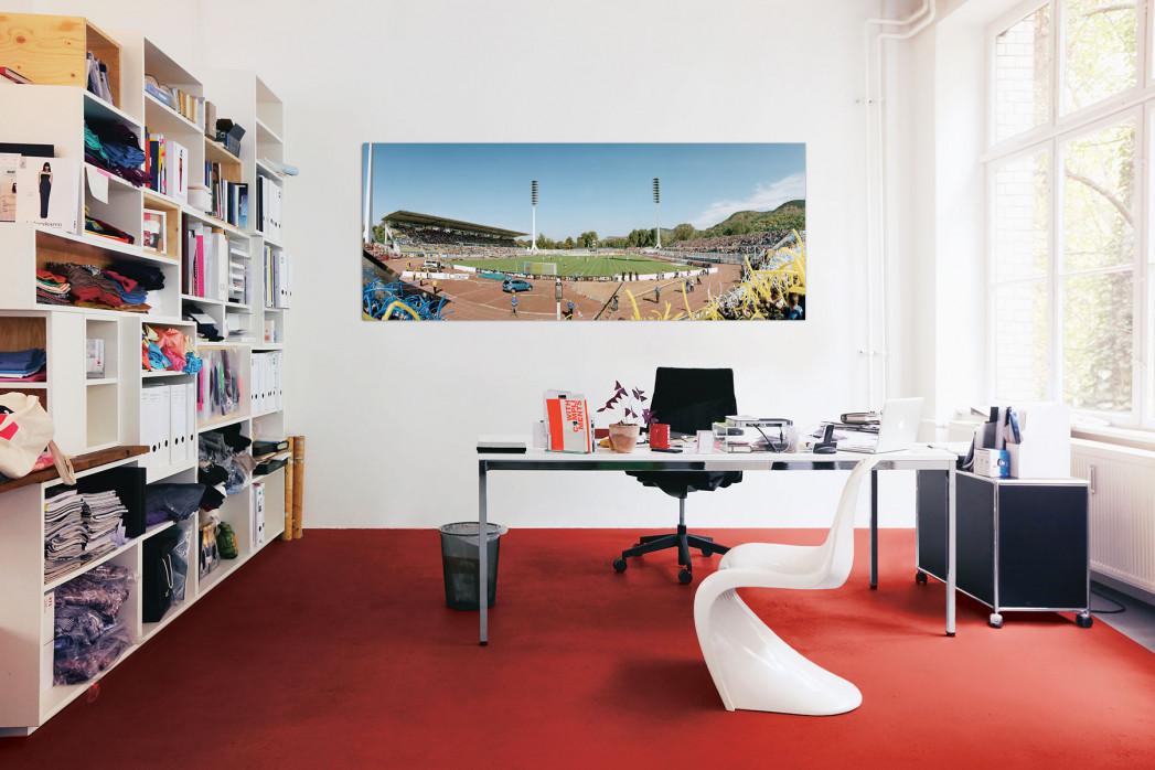 Carl Zeiss Jena Ernst Abbe Sportfeld in deinem Büro - 11FREUNDE BILDERWELT