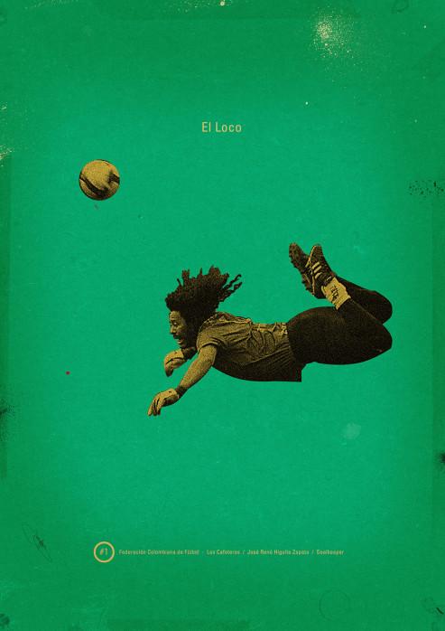 Higuita - Poster bestellen - 11FREUNDE SHOP