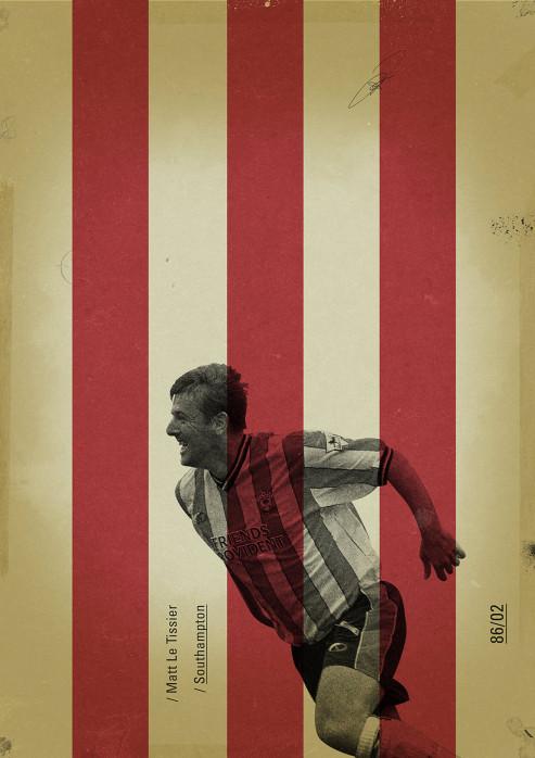 Le Tissier - Poster bestellen - 11FREUNDE SHOP