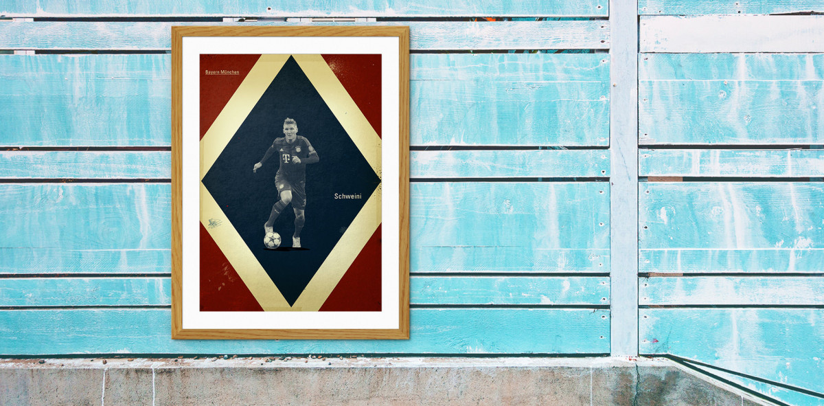 Schweinsteiger - Poster bestellen - 11FREUNDE SHOP