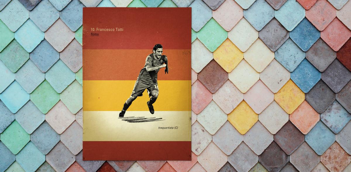 Totti - Poster bestellen - 11FREUNDE SHOP
