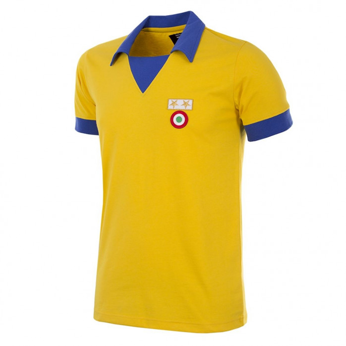 Juventus FC 1983 - 84 Away Coppa delle Coppe UEFA Short Sleeve Retro Shirt