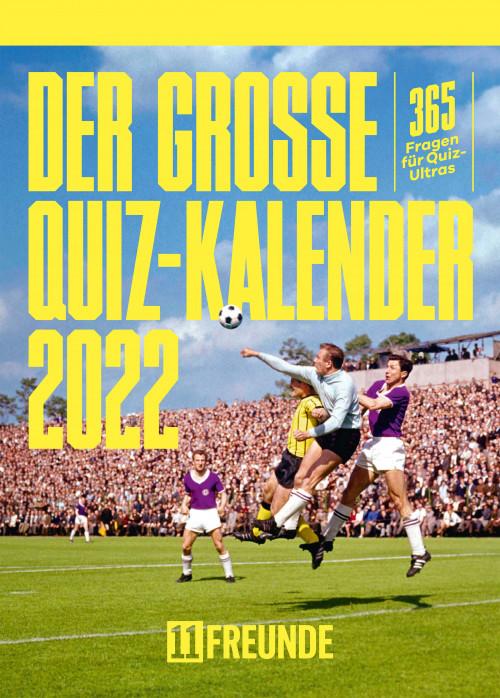 Der große 11FREUNDE Quiz Kalender 2022