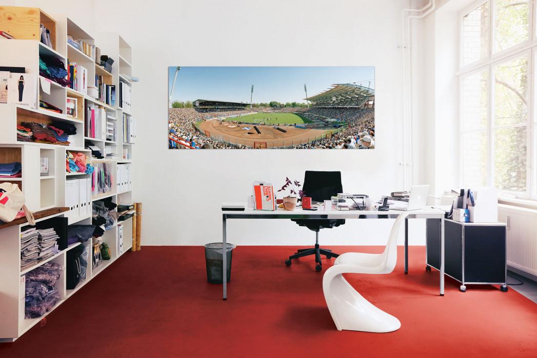 Wildparkstadion vom KSC in deinem Büro - 11FREUNDE BILDERWELT