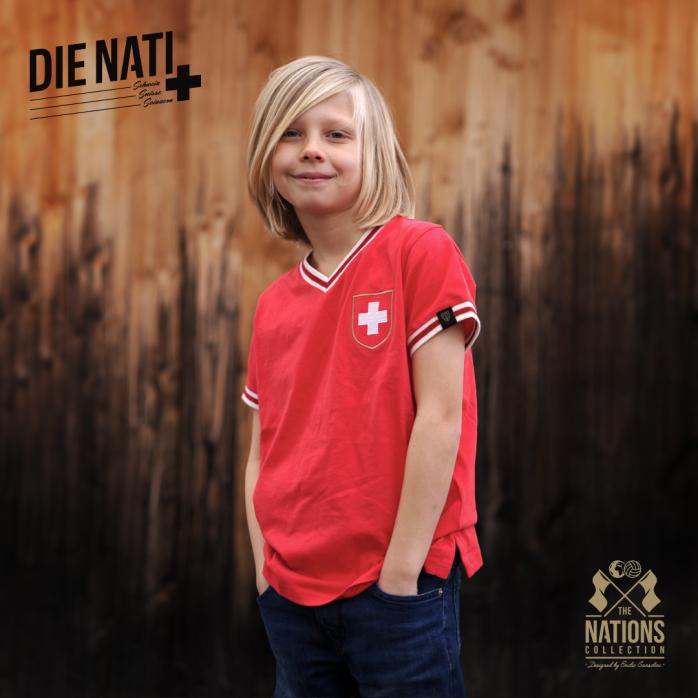 Switzerland - Die Nati for Kids - THE NATIONS designed by Emilio Sansolini - 11FREUNDE SHOP