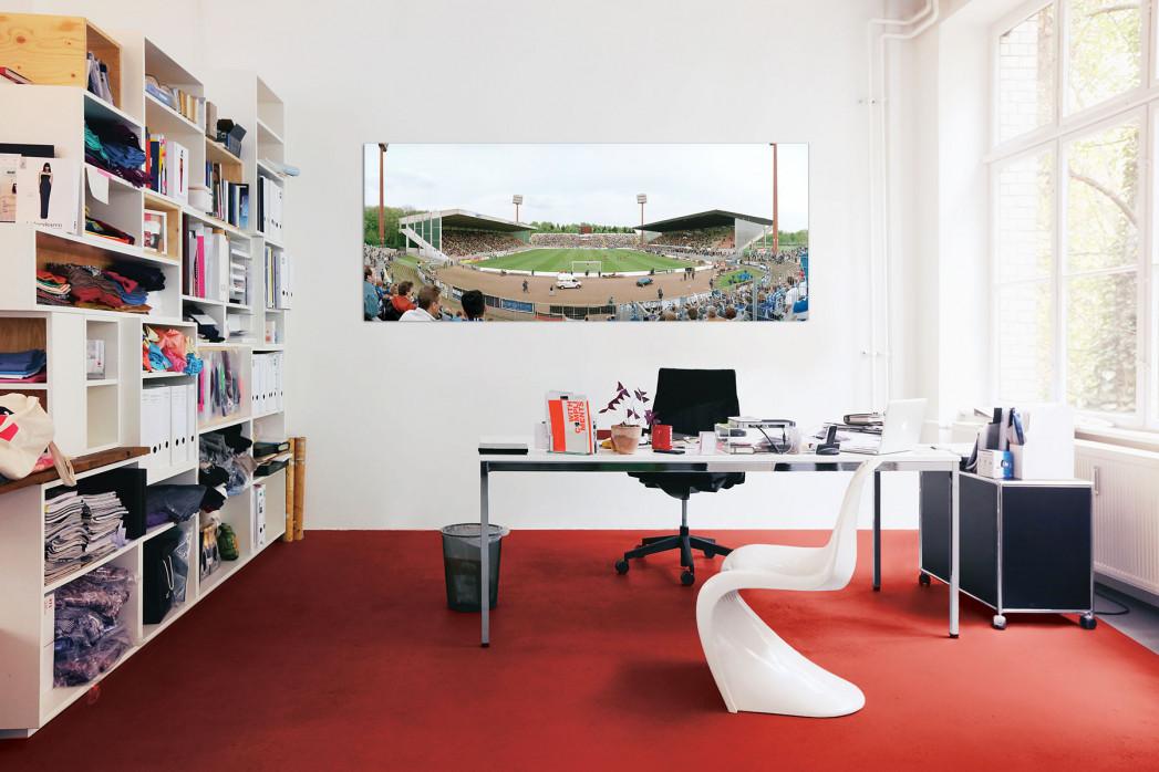 Die Grotenburg in deinem Büro - 11FREUNDE BILDERWELT
