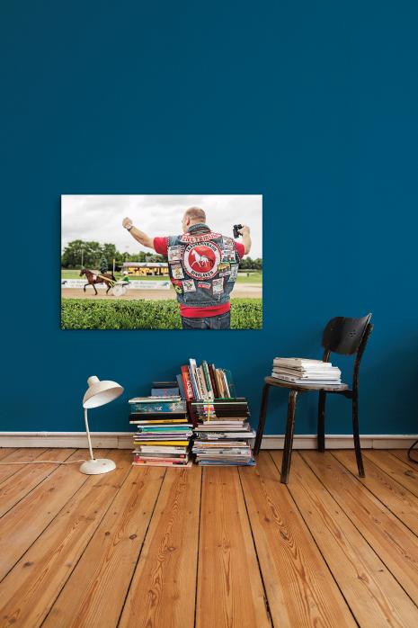 Kutten in anderen Sportarten, Motiv: Pferderennen, an deiner Wand - 11FREUNDE BILDERWELT