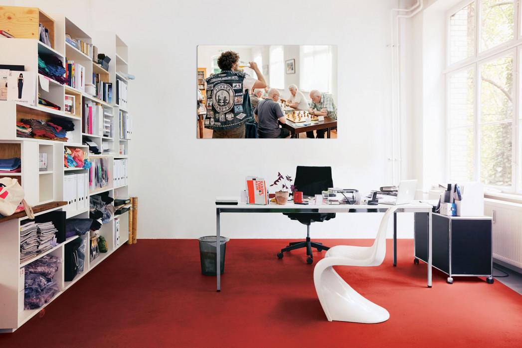 Kutten in anderen Sportarten, Motiv: Schach, in deinem Büro - 11FREUNDE BILDERWELT