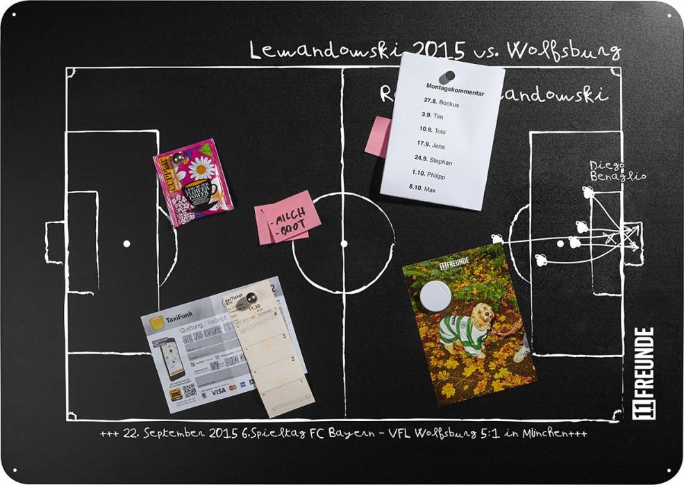 Magnettafel: Lewandowski 2015 - 11FREUNDE SHOP