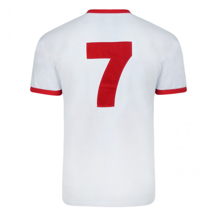 Liverpool Trikot 1973 Away Nr.7 - Score Draw Retro Football Shirt - 11FREUNDE SHOP
