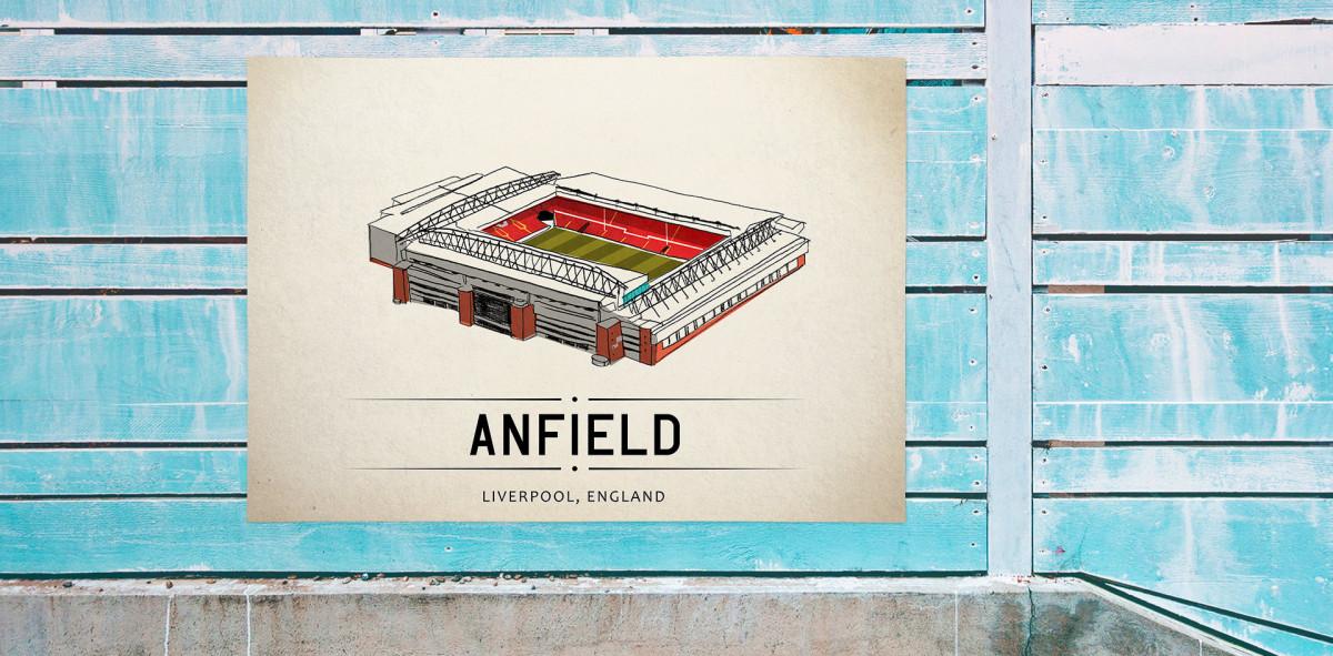 World Of Stadiums: Anfield - Poster bestellen - 11FREUNDE SHOP