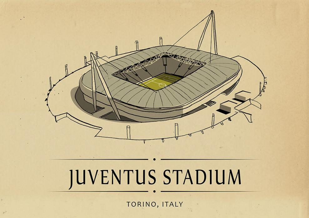 World Of Stadiums: Juventus Stadium - Poster bestellen - 11FREUNDE SHOP