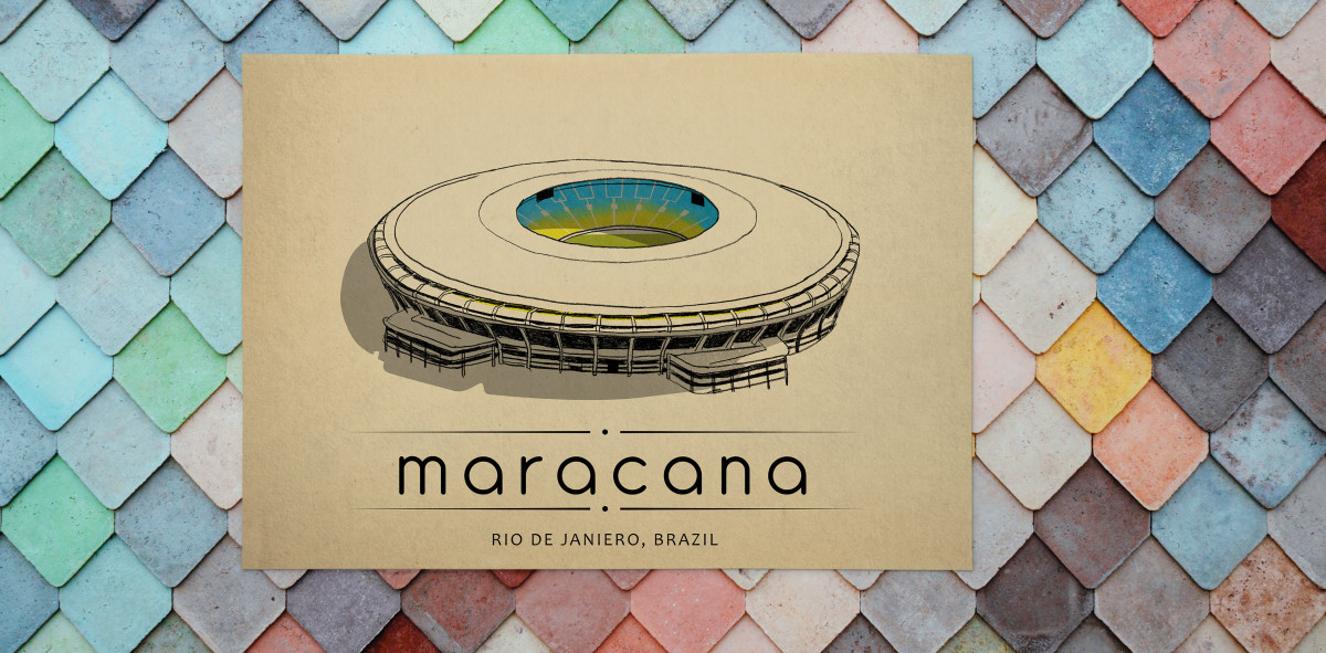 World Of Stadiums: Maracana - Poster bestellen - 11FREUNDE SHOP