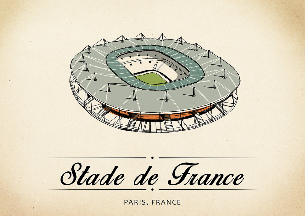 World Of Stadiums: Stade de France - Poster bestellen - 11FREUNDE SHOP
