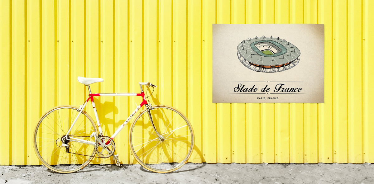 World Of Stadiums: Stade de France - Poster bestellen - 11FREUNDE SHOP