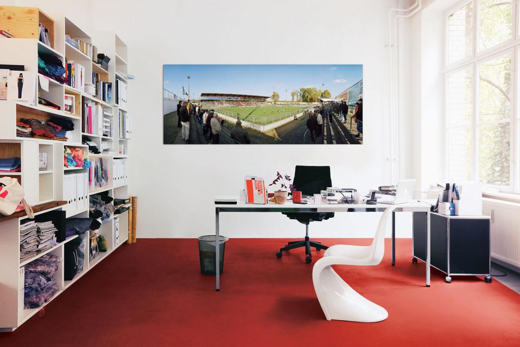 In deinem Büro: Stadion Lohmühle in Lübeck