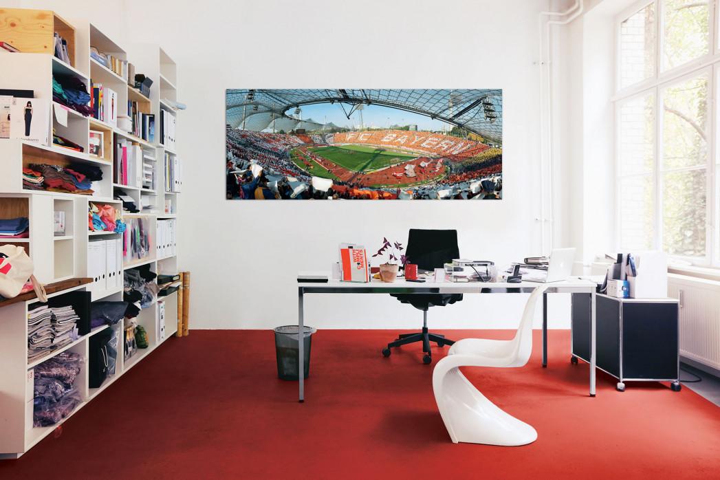 Olympiastadion München 1999 in deinem Büro - 11FREUNDE BILDERWELT