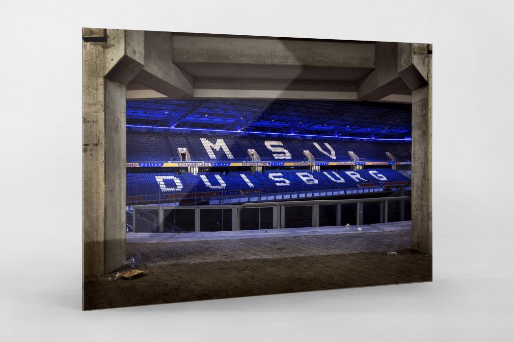 Duisburger Sitzschalen (1) - MSV Duisburg Foto von Christoph Buckstegen als Wandbild