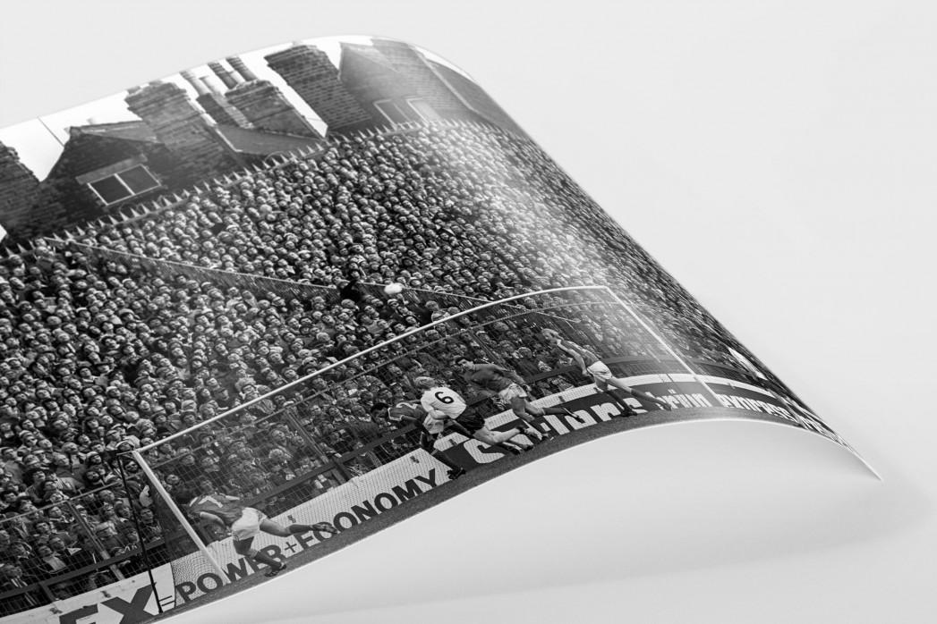 City Ground in Schwarzweiß - Nottingham Forest vs. Bolton Wanderers
