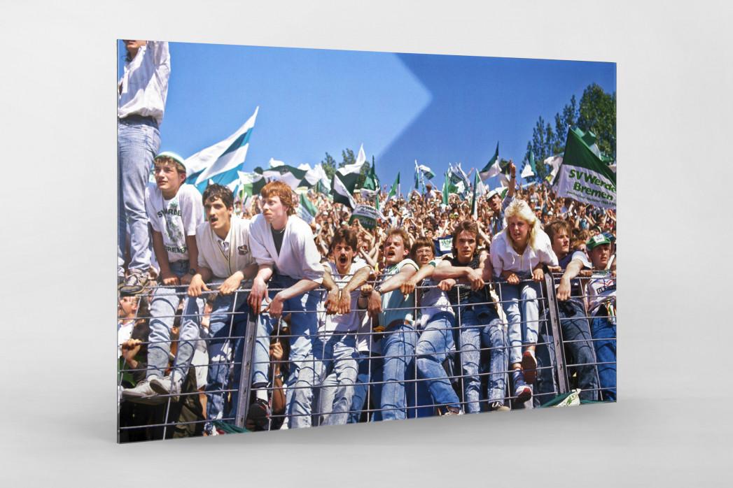 Bremer Fankurve 1988 - Werder Bremen Wandbild