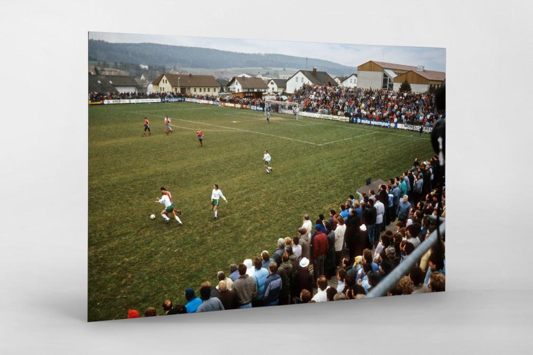 Bayernliga 1987 - Wandbild Stadion am Schwalbenberg des TSV Vestenbergsgreuth