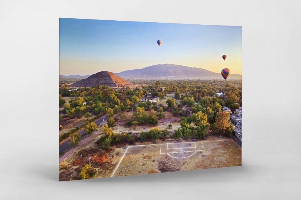Fußballplatz und Heißluftballons - Wandbild - 11FREUNDE SHOP