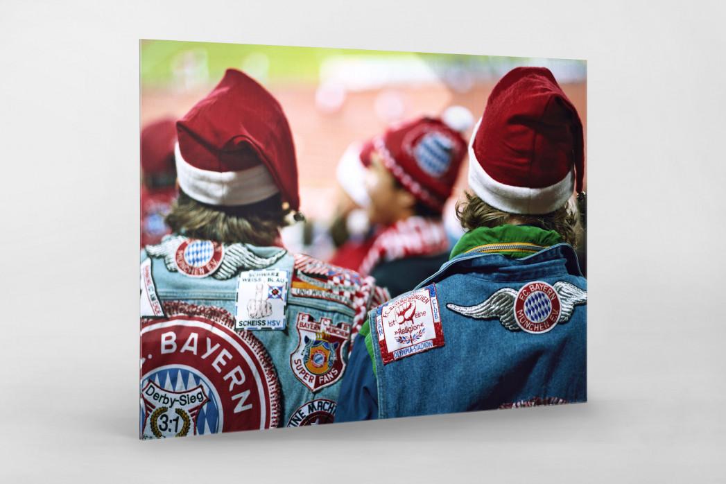 Weihnachtsmänner in Kutten - Christoph Buckstegen Foto als Wandbild