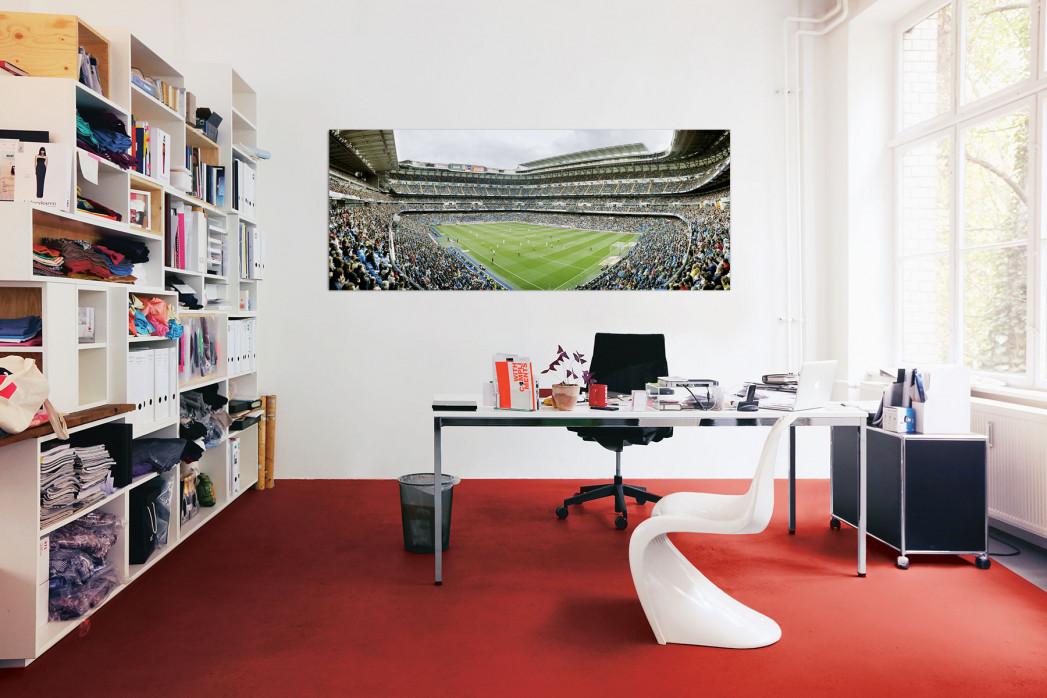 Real Madrid Bernabéu in deinem Büro - 11FREUNDE BILDERWELT