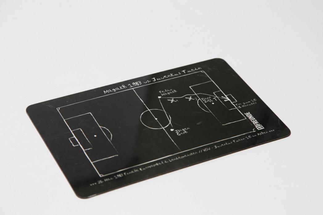 Frühstücksbrettchen: Felix Magath 1983 Hamburger SV vs. Juventus Turin