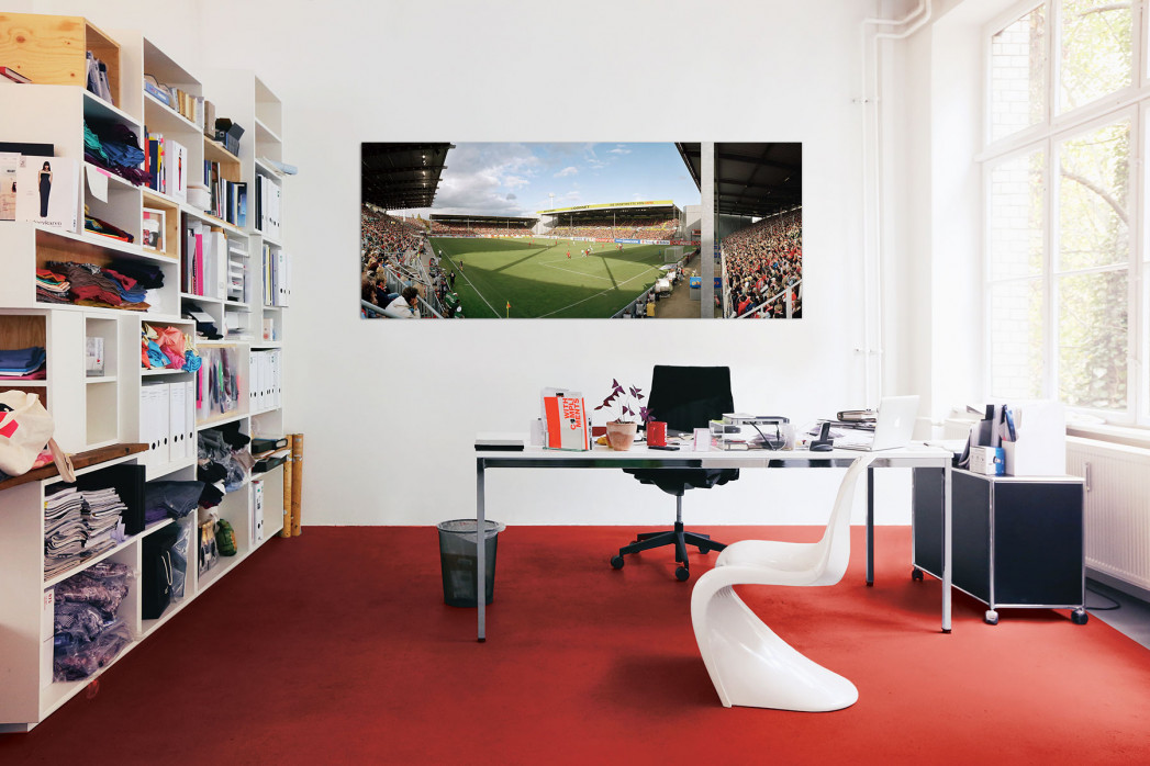 Das Stadion am Bruchweg in deinem Büro - 11FREUNDE BILDERWELT