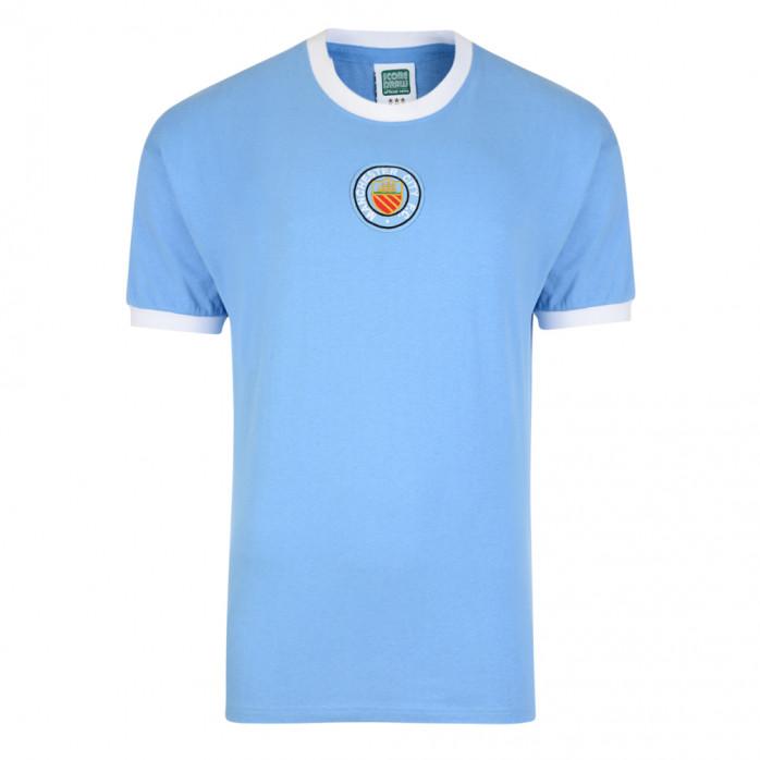 Manchester City Trikot 1970 Away Nr.8 - Score Draw Retro Trikot ...