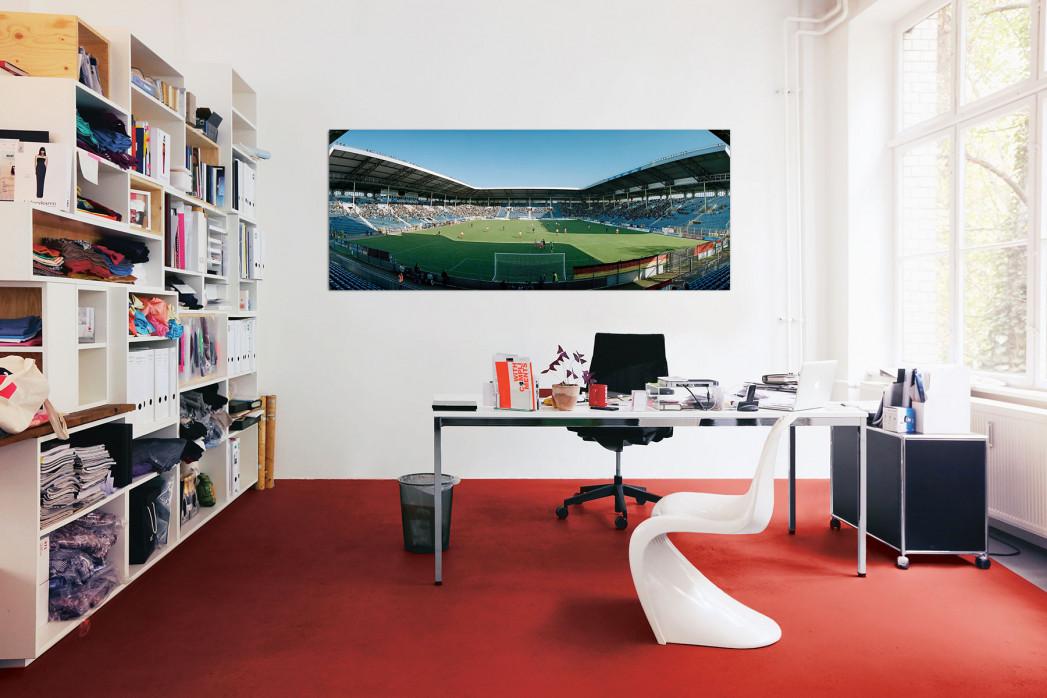 Das Carl-Benz-Stadion in deinem Büro - 11FREUNDE BILDERWELT