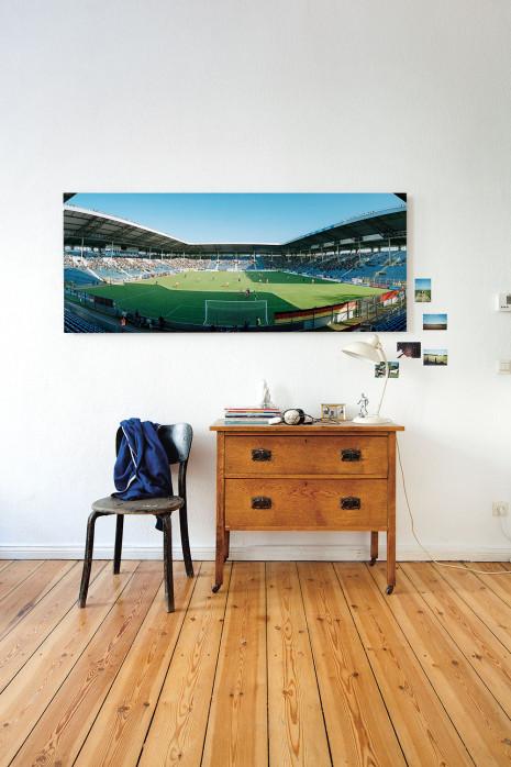 Das Carl-Benz-Stadion an deiner Wand - 11FREUNDE BILDERWELT