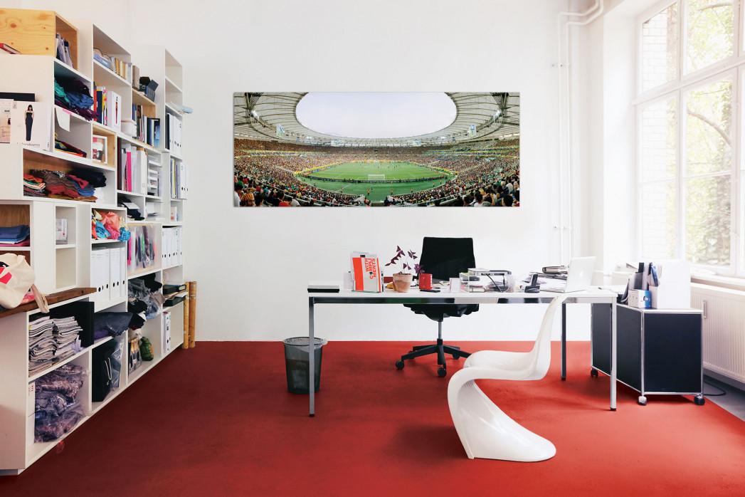 In deinem Büro: Rio de Janeiro - Estádio do Maracanã am Tag