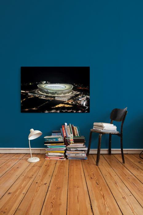 »Cape Town Stadium bei Nacht« an deiner Wand - 11FREUNDE BILDERWELT